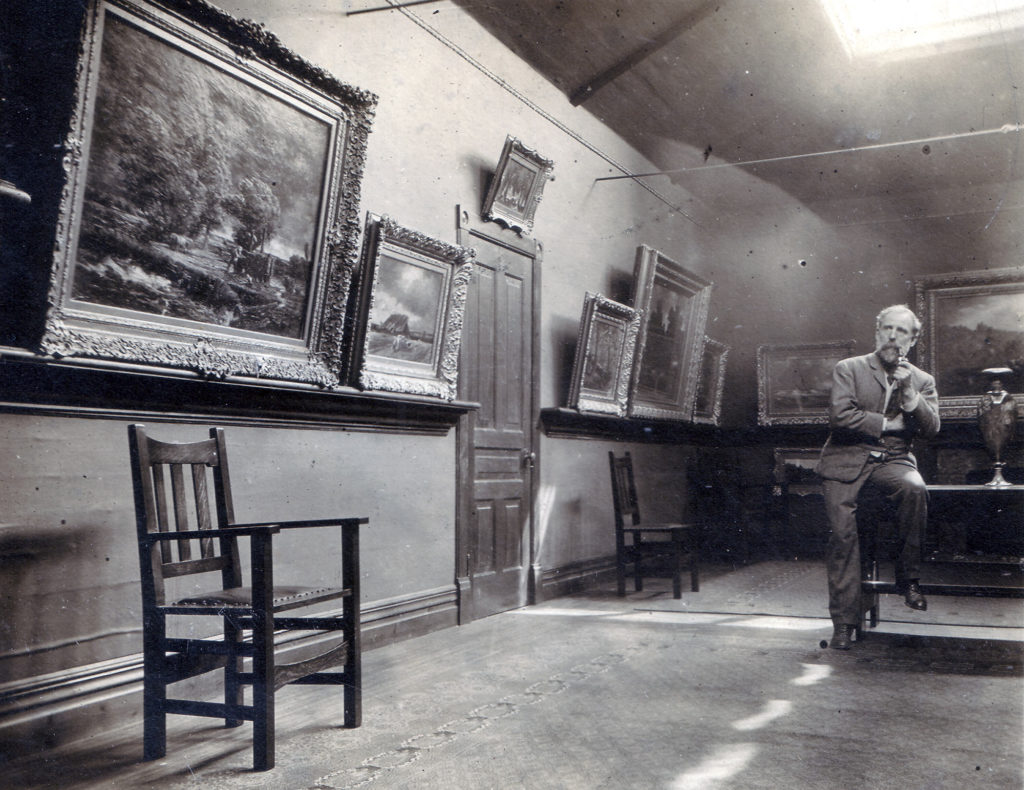 Homer Watson in The Gallery c. 1910