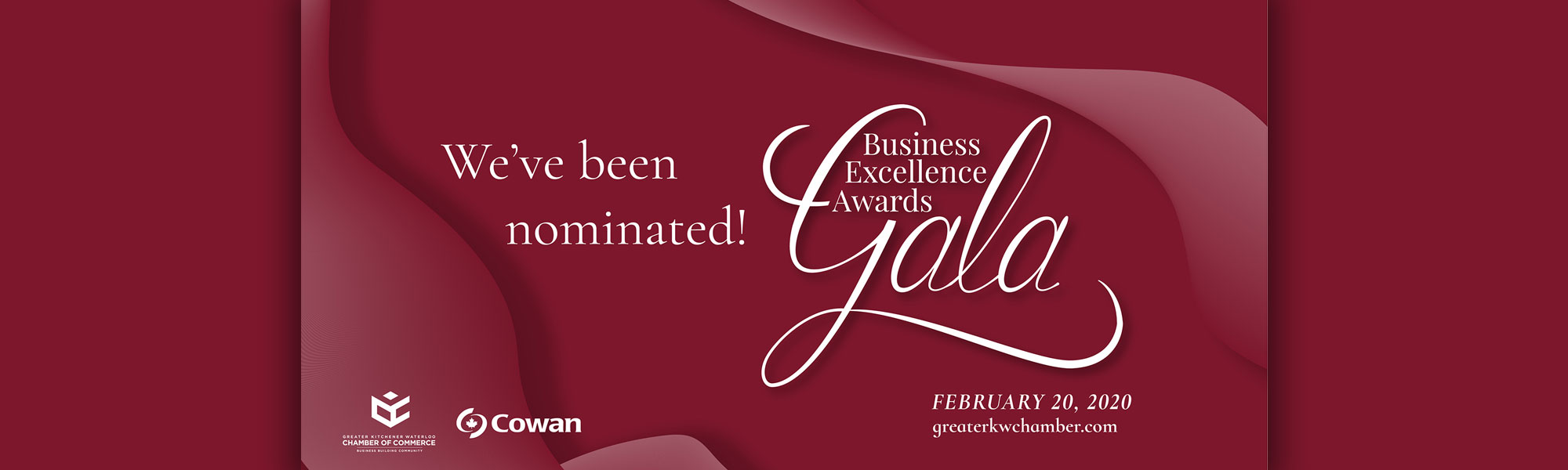 Chamber of Commerce Business Excellence Award Nomination