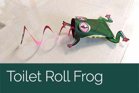 Toilet Roll Frog