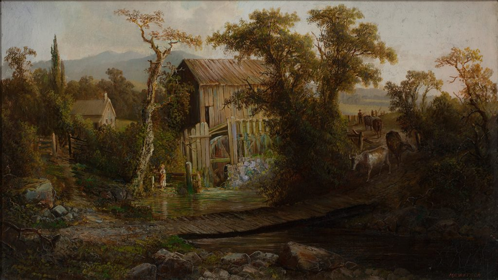 Homer Watson, The Old Mill (1878)