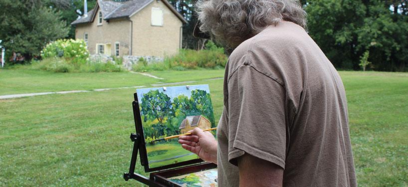 Plein Air Painting with Cheryl-Ann Hills