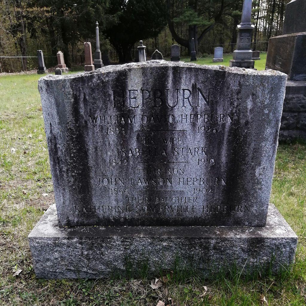 William David Hepburn Gravestone