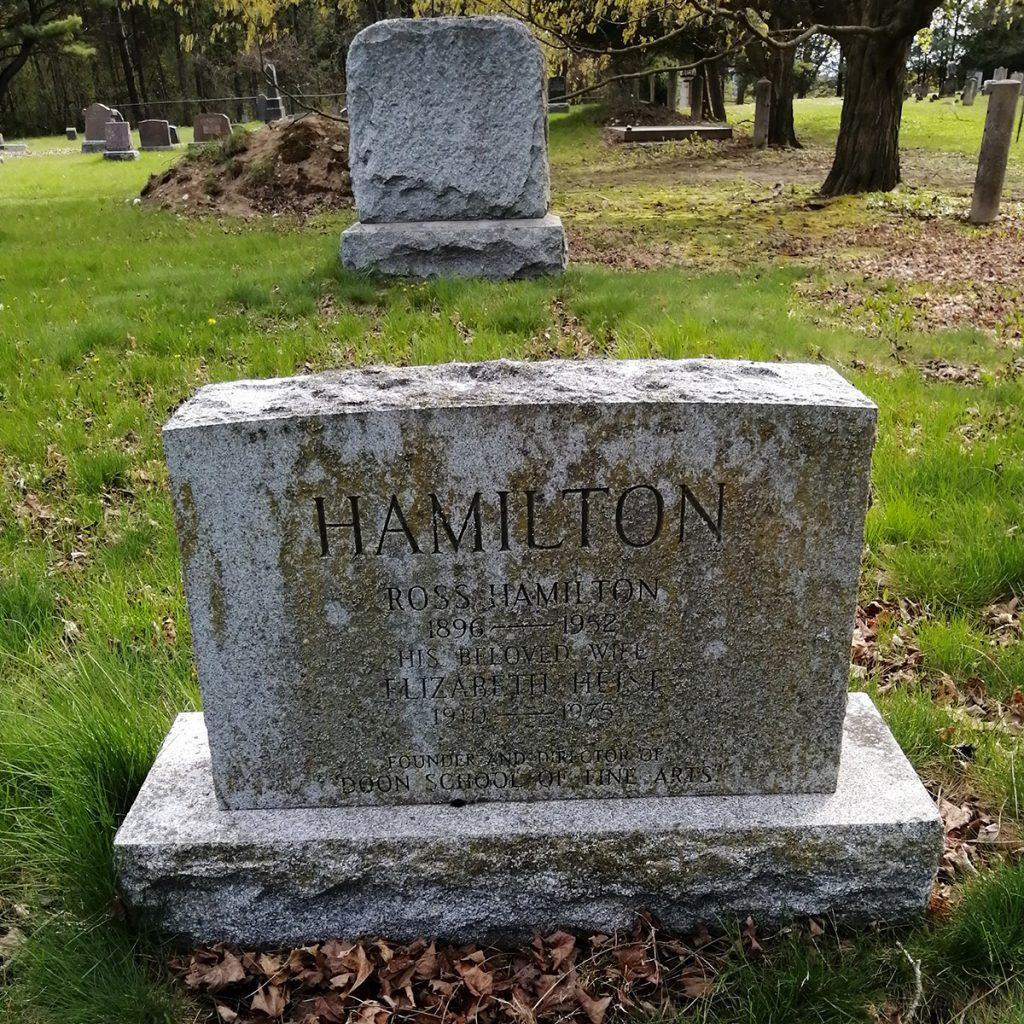 Ross Hamilton Gravestone