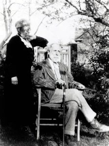 Phoebe Watson and Homer Watson 1934