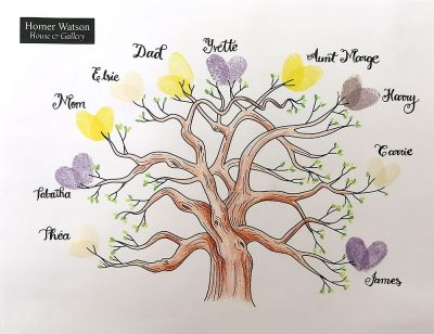 Thumbprint-Family-Tree